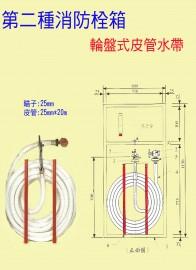 消-輪盤式皮管水帶