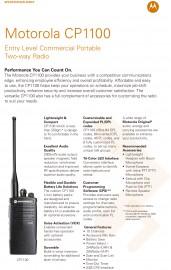 無-無線電CP1100